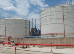 Storage tank fire pipeline in chemical industry - jinzhou port petrochemical co