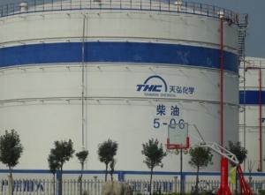 Chemical enterprises tanks fire pipeline - tianhong chemical
