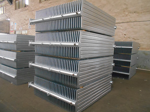 Galvanized radiator