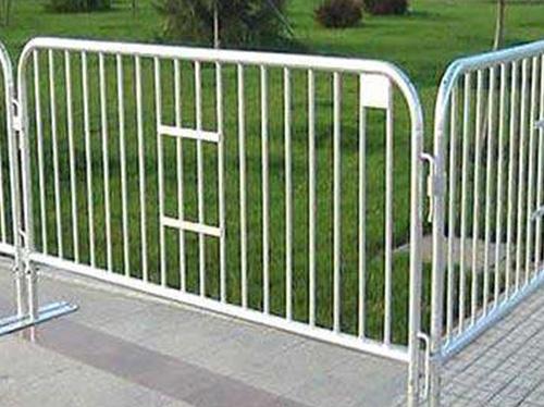 A fence galvanized