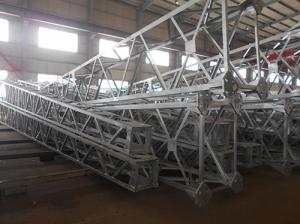 Galvanized iron support