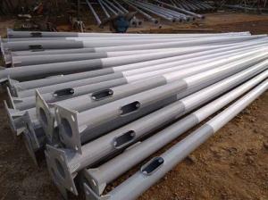 Signal pole galvanizing