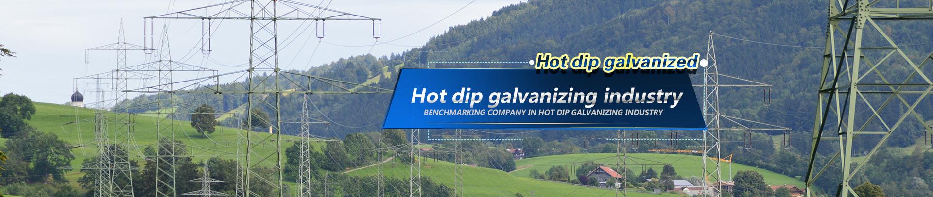 Hot galvanizing